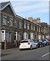 ST3288 : Later Victorian Temperance Cottages, Christchurch Road, Newport by Jaggery