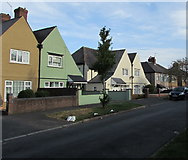 ST3288 : West side of Cornwall Road, Newport by Jaggery