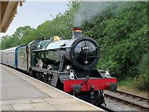 "SD8022 : Ex-GWR Locomotive ""Witherslack Hall"" at Rawtenstall by David Dixon"