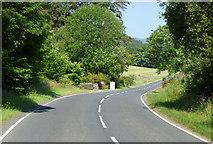 NS0570 : The A886 Rhubodach Road by Thomas Nugent