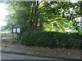 SJ7875 : Ollerton with Marthall Parish Council noticeboard by Christine Johnstone