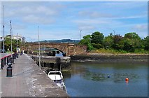 X2693 : View from Davitt's Quay, Dungarvan, Co. Waterford by P L Chadwick