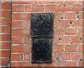 TG2208 : 50 Colegate - parish boundary markers by Evelyn Simak