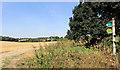 SU9198 : South Bucks Way at Little Missenden by Des Blenkinsopp