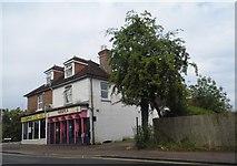 TQ3018 : Shops on London Road, Burgess Hill by David Howard