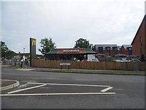 TQ3118 : McDonald's on Queen Elizabeth Avenue, Burgess Hill by David Howard