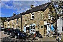 SK2276 : Eyam: 'Village Green' (John Torre's House) by Michael Garlick