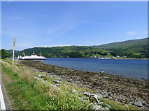 NS0274 : Rhubodach to Colintraive ferry crossing by Thomas Nugent