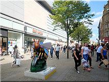 SJ8498 : Bee in the City, Market Street by David Dixon