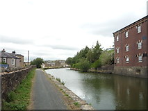 SD8538 : Leeds and Liverpool Canal north of Carr Road Bridge by JThomas
