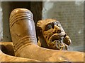 SK3616 : Church of St Helen, Ashby-de-la-Zouch – Hastings tomb – 3 by Alan Murray-Rust
