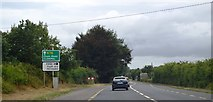 S4042 : Approaching R692 turning, N76 by N Chadwick