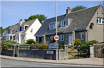 NS0374 : Road signs in Colintraive by Thomas Nugent