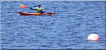 NS0274 : Kayak in the Kyles of Bute by Thomas Nugent
