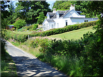 NS0275 : The B866 road near Colintraive by Thomas Nugent