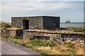 SJ2692 : WWII Cheshire: Defences of the Wirral, Mockbeggar Wharf pillbox, Wallasey (1) by Mike Searle