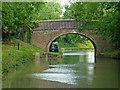 SP5974 : Fox's Farm Bridge north of Crick in Northamptonshire by Roger  Kidd