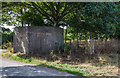 SJ3083 : WWII Cheshire: Defences of the Wirral, Brimstage Lane pillbox (1) by Mike Searle
