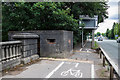 SJ3484 : WWII Cheshire: Defences of the Wirral, New Chester Road pillboxes (3) by Mike Searle