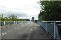 SH5571 : Menai Bridge by DS Pugh