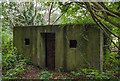 SJ3778 : WWII Cheshire: Defences of the Wirral, Hooton Park Farm pillbox (2) by Mike Searle