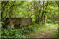 SJ3779 : WWII Cheshire: defences of the Wirral, RAF Hooton Park pillbox (1) by Mike Searle