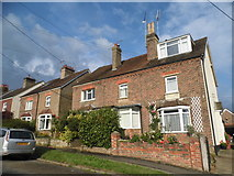 TQ2134 : Cottages on Faygate Lane by David Howard