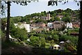 SJ6703 : View over the River Severn in Ironbridge by Philip Halling