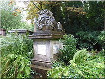 TQ2887 : The tomb of George Wombwell, Highgate Cemetery by Marathon