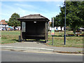 TQ7794 : Bus Shelter on Hawk Hill by Adrian Cable
