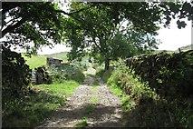 NY6511 : Sayle Lane/Coppermine Lane by Richard Webb