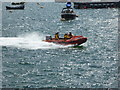 SX9257 : RNLI rescue boat - Brixham by Chris Allen