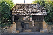 SO9537 : A bus shelter built before the first bus .... by Philip Pankhurst