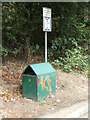 TL7711 : Litter Bin & Roadsign by Adrian Cable