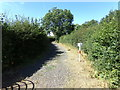 TQ8093 : Lubards Lodge Perimeter Bridleway by Adrian Cable