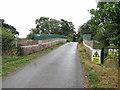 SU2688 : Rail overbridge near Compton Beauchamp by Gareth James