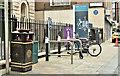 J3374 : Bicycle parking, Rosemary Street, Belfast (August 2018) by Albert Bridge
