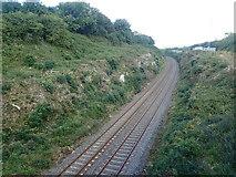 J0613 : The Dublin to Belfast line between the L7093 and Jonesborough Railway Bridge by Eric Jones