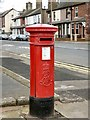 SD3348 : Edward VII postbox (FY7 10) by Gerald England