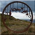 "NZ6921 : The ""Huntcliff Circle"" by Mat Fascione"