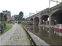 SJ8297 : Bridgewater Canal by Oliver Dixon