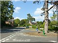 SK3624 : Junction of Stanton Hill (A514) and Melbourne Lane, Ticknall by Alan Murray-Rust