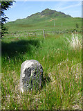 NS0482 : Milestone by the B836 road by Thomas Nugent