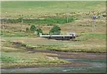 NS0584 : Pipeline over Balliemore Burn by Thomas Nugent