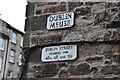 NT2574 : Street sign, Dublin Meuse Edinburgh New Town by Jim Barton