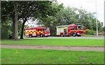 NO3700 : Fire engines by Bill Kasman
