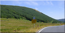 NS0883 : Passing place in Glen Lean by Thomas Nugent