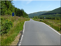 NS0982 : The B836 road at Glen Lean by Thomas Nugent