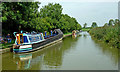 SP6282 : Working narrowboat near North Kilworth in Northamptonshire by Roger  Kidd