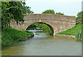 SP6282 : Canal bridge at Welford Junction in Northamptonshire by Roger  Kidd